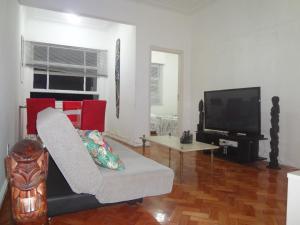 Ap 2 quartos Copacabana TV WIFI, Apartmány  Rio de Janeiro - big - 1