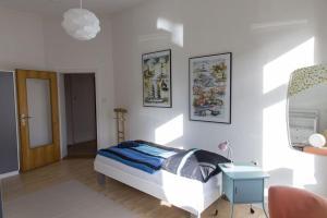 Stilvolle Altbauwohnung in zentraler Lage, Apartmanok  Kiel - big - 13