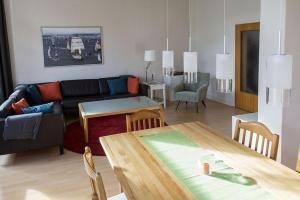 Stilvolle Altbauwohnung in zentraler Lage, Apartmanok  Kiel - big - 4