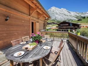 Chalet L'Ours Blanc, Horské chaty  Le Grand-Bornand - big - 16