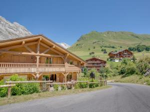 Chalet L'Ours Blanc, Horské chaty  Le Grand-Bornand - big - 7