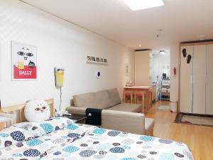 Hongdae Home Sweet Home, Apartmány  Soul - big - 13