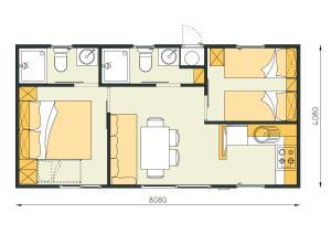 Campsite Porton Biondi Mobile Homes Mediteran, Ferienparks  Rovinj - big - 12