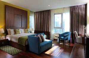 Люкс с 1 спальней и видом на фонтан