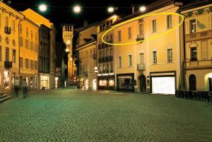 Bellinzona Piazza Collegiata