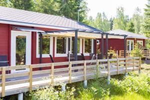 Hamgården Nature Resort Tiveden, Case di campagna  Tived - big - 1