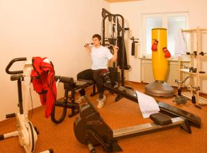 Fitness center Hambergers Posthotel