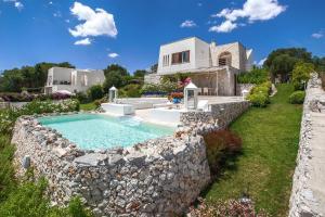 Villa Fanò, Ville  Castro di Lecce - big - 12