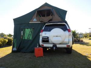 Adventure Campers - Jeep & Tent