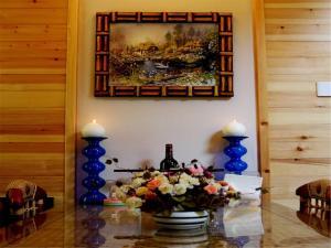 Beijing Qingshui Hewan Woodhouse Hotel, Отели  Miyun - big - 11
