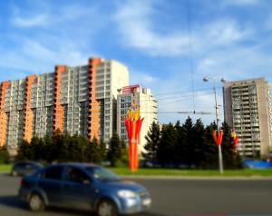 (Apartment na Ploshyadi Gagarina)