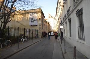 Authentic bright flat in Le Marais