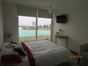 Departamento Diamante vista al Mar, Apartmány  Papudo - big - 9