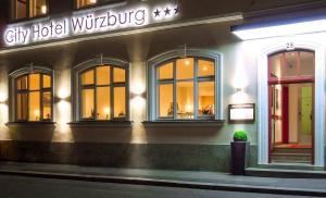 Вюрцбург - City Hotel Wurzburg