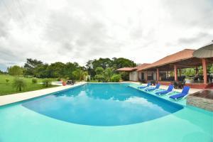 Hotel Campestre San Juan de los Llanos, Vily  Yopal - big - 59
