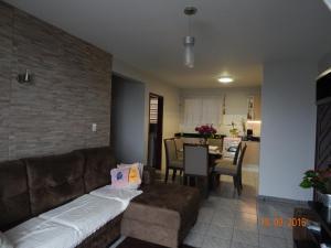 APARTAMENTO 3 ANDAR, FRENTE PARA O MAR, Appartamenti  Ponta do Rei - big - 12