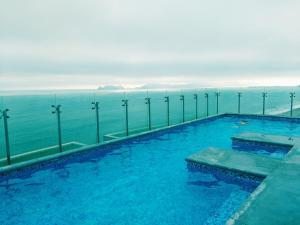 Exclusivo Departamento Con Vista Al Mar, Ferienwohnungen  Lima - big - 7
