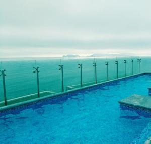 Exclusivo Departamento Con Vista Al Mar, Ferienwohnungen  Lima - big - 10