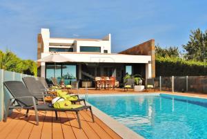 Villa Serra e Mar, Vily  Almancil - big - 20