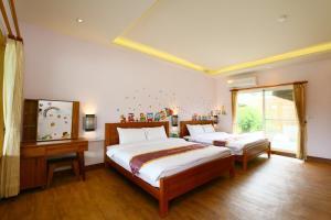 Ruisui Palm Lakes B&B, Bed & Breakfasts  Ruisui - big - 9