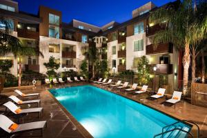 Popular Hollywood Walk of Fame Penthouse, Apartmanok  Los Angeles - big - 16