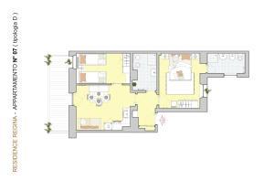 Appartamento Superior con 2 Camere da Letto e Vista Lago (4 Adulti)