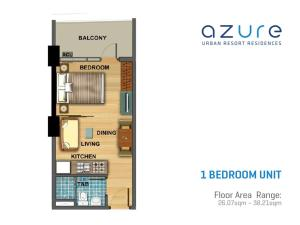 Beach Get-away in the City at Azure Residences