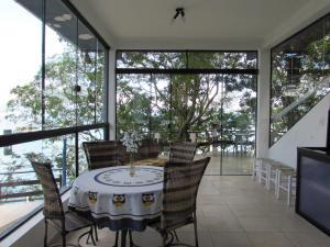Caixa D'aço Residence, Nyaralók  Porto Belo - big - 34