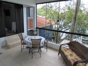 Caixa D'aço Residence, Nyaralók  Porto Belo - big - 39