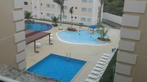 Apartamento Encontro das Águas Thermas, Apartmanok  Caldas Novas - big - 4