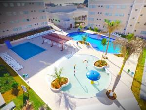 Apartamento Encontro das Águas Thermas, Apartmanok  Caldas Novas - big - 7