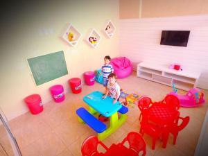 Apartamento Encontro das Águas Thermas, Apartmanok  Caldas Novas - big - 8