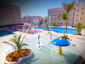 Apartamento Encontro das Águas Thermas, Apartmanok  Caldas Novas - big - 9