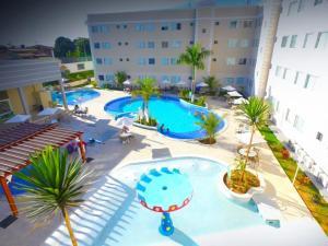 Apartamento Encontro das Águas Thermas, Apartmanok  Caldas Novas - big - 11