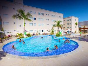 Apartamento Encontro das Águas Thermas, Apartmanok  Caldas Novas - big - 12