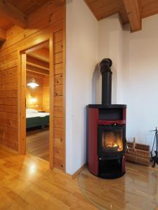 Haus Helene im Öko-Feriendorf, Holiday homes  Schlierbach - big - 5