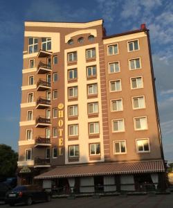 AMBER Hotel & Cafe, Hotely  Bohorodchany - big - 43