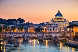 Casa Maximo Vatican San Pietro, Apartmány  Rím - big - 6