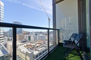 Popular DTLA Designer Suite With Massive Views, Ferienwohnungen  Los Angeles - big - 23