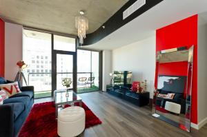 Popular DTLA Designer Suite With Massive Views, Ferienwohnungen  Los Angeles - big - 28
