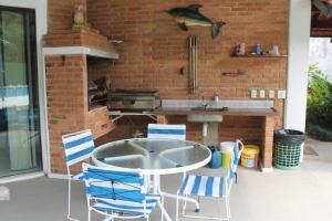 Chalé Guaiuba, Prázdninové domy  Guarujá - big - 23