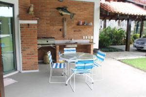 Chalé Guaiuba, Prázdninové domy  Guarujá - big - 22
