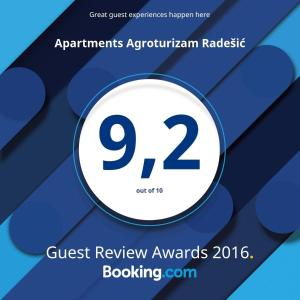 Apartments Agroturizam Radešic
