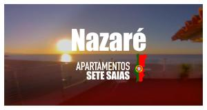 Apartamentos 7 Saias Marginal, Penzióny  Nazaré - big - 73