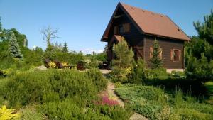 Chata Drewniana Zagroda Dom Wakacyjny Jaszkowo Polsko