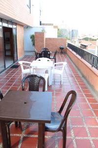 Habitaciones en Medellín (Apartahotel Ferjaz), Vendégházak  Medellín - big - 102