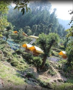 Offthecity Camp Kyar, Luxury tents  Shimla - big - 53