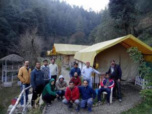 Offthecity Camp Kyar, Luxury tents  Shimla - big - 18