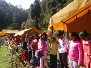 Offthecity Camp Kyar, Zelt-Lodges  Shimla - big - 40