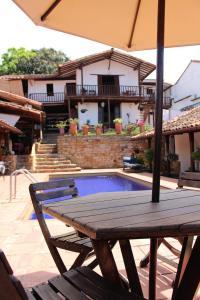 La Serrana Hostal Spa, Hotel  Socorro - big - 22